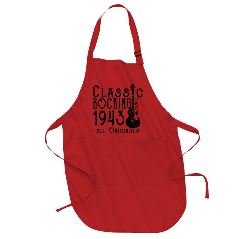Rocking Since 1943 Full-length Apron | Artistshot