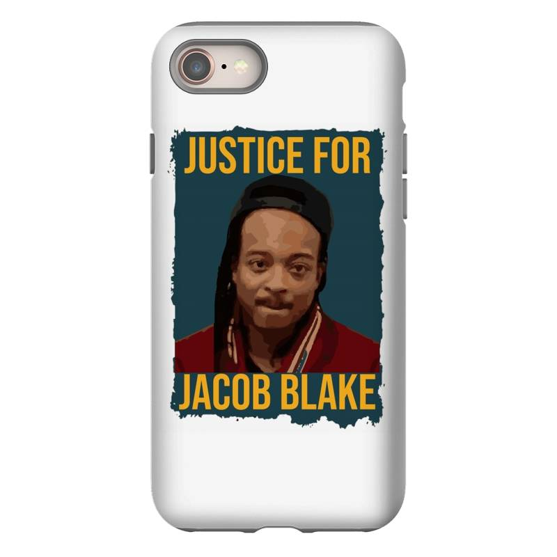 Custom Justice For Jacob Blake Iphone 8 Case By Kakashop ...
