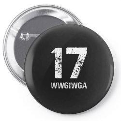 17 sport wwg1wga Pin-back button | Artistshot