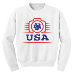 Photographers of the United States creative unique icon Youth Sweatshirt | Artistshot