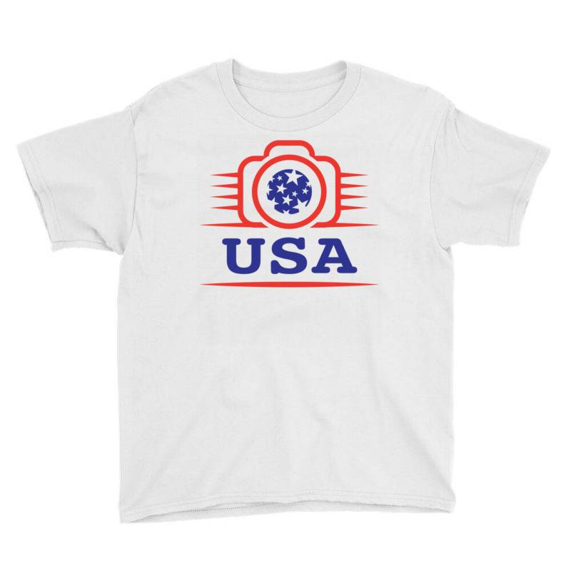 Photographers Of The United States Creative Unique Icon Youth Tee | Artistshot