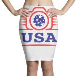 Photographers of the United States creative unique icon Pencil Skirts | Artistshot