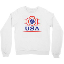 Photographers of the United States creative unique icon Crewneck Sweatshirt | Artistshot