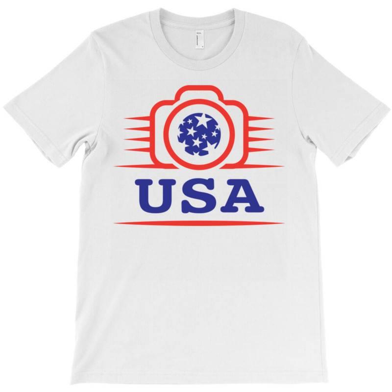 Photographers Of The United States Creative Unique Icon T-shirt   Artistshot