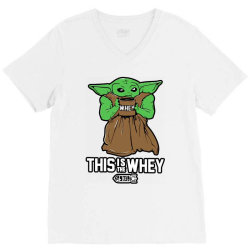 this is the whey V-Neck Tee | Artistshot