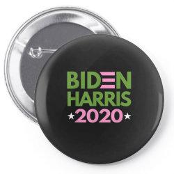biden harris 2020 pink green democrat Pin-back button | Artistshot