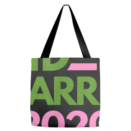Biden Harris 2020 Pink Green Democrat Tote Bags Designed By Cuser3772