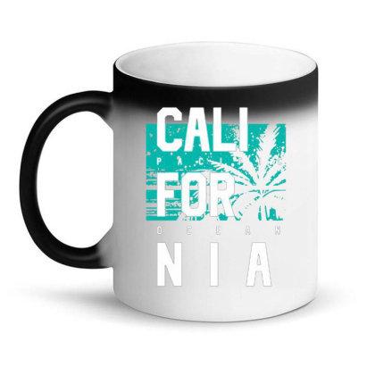 California Pacific Ocean Style Magic Mug Designed By Lisart