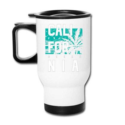 California Pacific Ocean Style Travel Mug Designed By Lisart