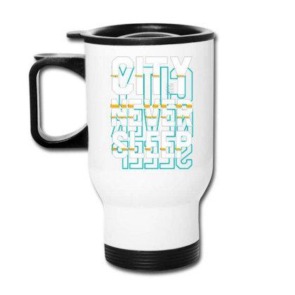 City Never Sleep, Nyc Travel Mug Designed By Lisart