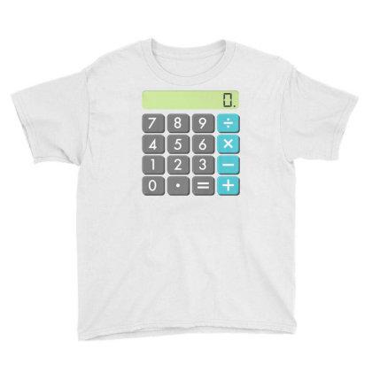 Calculator Halloween Costume Shirt Math Geek Scary Cool Gift Youth Tee Designed By Nuansa