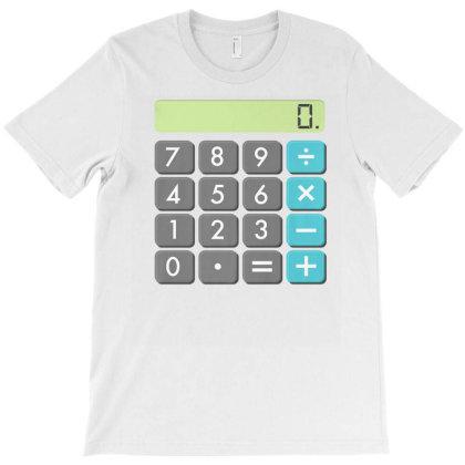 Calculator Halloween Costume Shirt Math Geek Scary Cool Gift T-shirt Designed By Nuansa