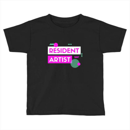 Resident Artist Toddler T-shirt Designed By Perfect Designers
