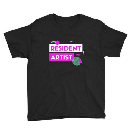 Resident Artist Youth Tee Designed By Perfect Designers
