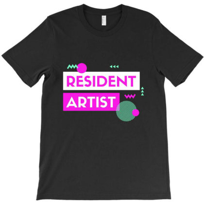 Resident Artist T-shirt Designed By Perfect Designers