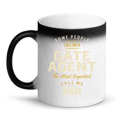 Gate Agent Job Title Gift Magic Mug Designed By Cidolopez