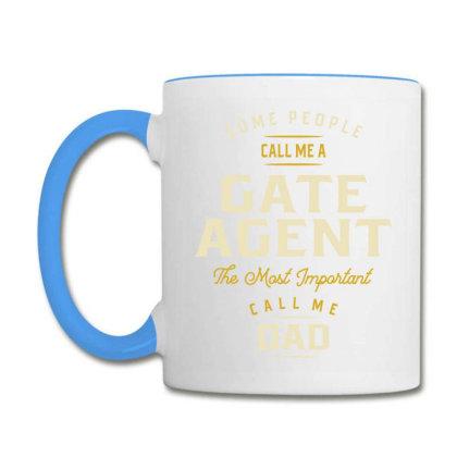 Gate Agent Job Title Gift Coffee Mug Designed By Cidolopez