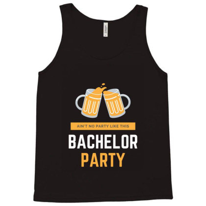 Bachelor Party Tank Top Designed By Perfect Designers