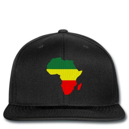 Africa Map Embroidery Embroidered Hat Snapback Designed By Madhatter