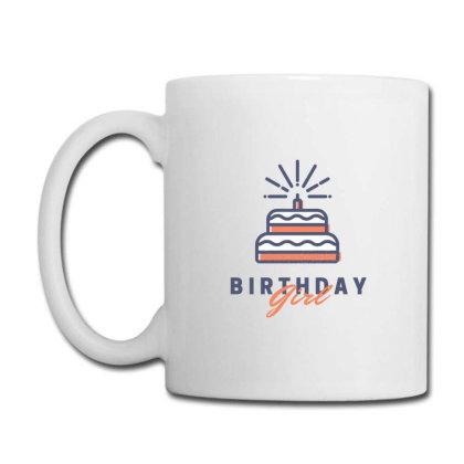Birthday Girl Cake Coffee Mug