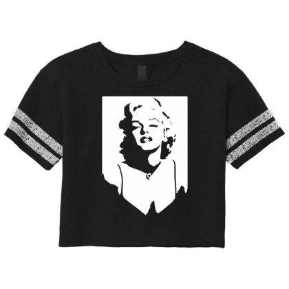 Marilyn Monroe Scorecard Crop Tee Designed By Lyly