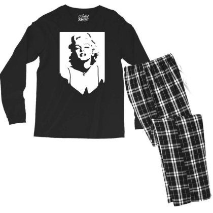 Marilyn Monroe Men's Long Sleeve Pajama Set Designed By Lyly