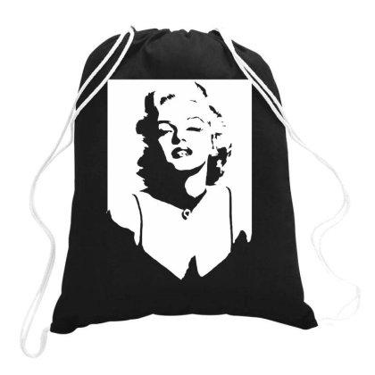 Marilyn Monroe Drawstring Bags Designed By Lyly