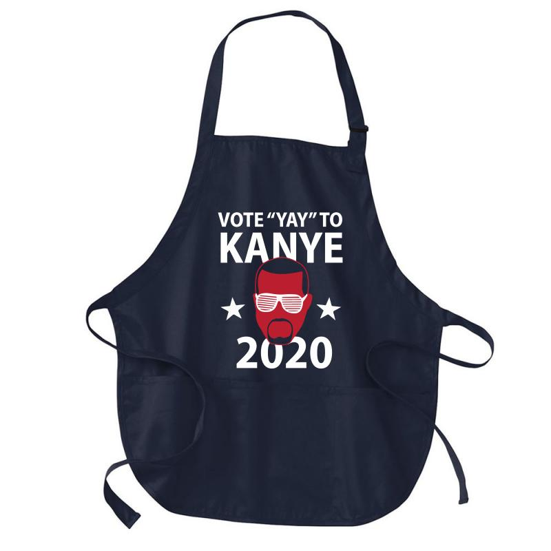 Kanye 2020 Medium-length Apron | Artistshot