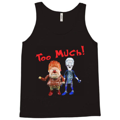 Heat Miser And Snow Miser Tank Top Designed By Dolly Tees