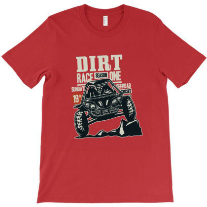 Dirt Race T-shirt Designed By Chiks