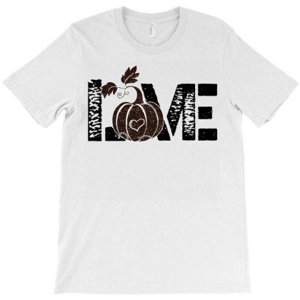 Love Pumpkin T-shirt Designed By Iconshop