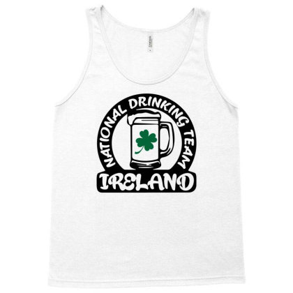 Ireland National Drinking Team Tank Top Designed By G3ry