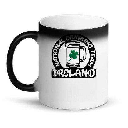 Ireland National Drinking Team Magic Mug Designed By G3ry