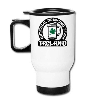 Ireland National Drinking Team Travel Mug Designed By G3ry