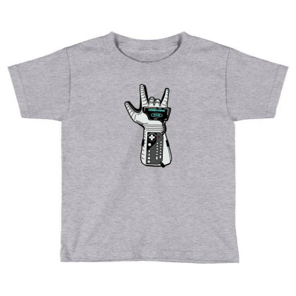 Power Glove Toddler T-shirt Designed By Clarens