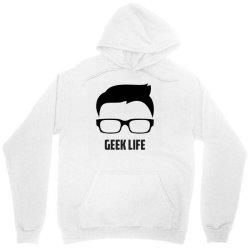 Geek life Unisex Hoodie   Artistshot