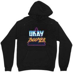 Funny Okay Boomer Retro 80s Unisex Hoodie | Artistshot