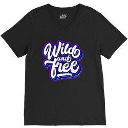 wild and free V-Neck Tee | Artistshot