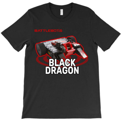 Black Dragon T-shirt Designed By Mio901215