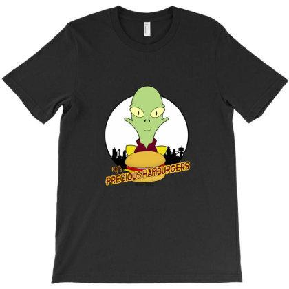 Precious Hamburgers T-shirt Designed By Bronsea