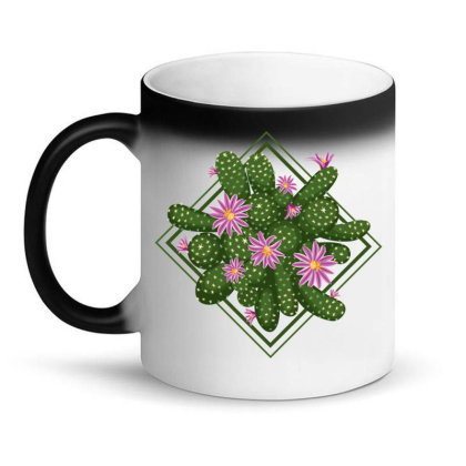 Blooming Cactus Magic Mug Designed By Lents