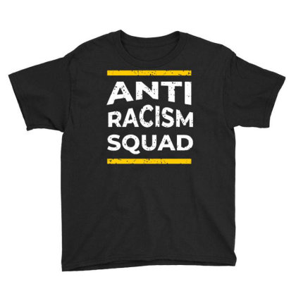 Anti Racism Squad Youth Tee Designed By Nurart