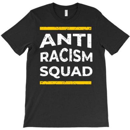 Anti Racism Squad T-shirt Designed By Nurart