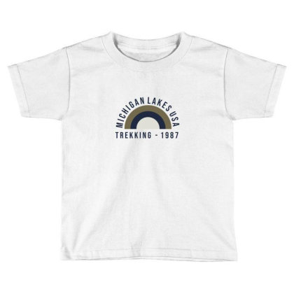 Trekking Toddler T-shirt Designed By Disgus_thing