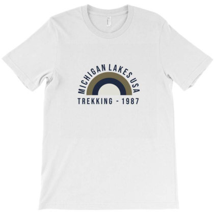 Trekking T-shirt Designed By Disgus_thing