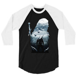 wild hunt 3/4 Sleeve Shirt | Artistshot