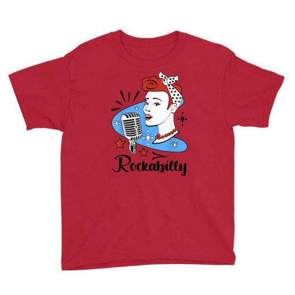 50s Rockabilly Youth Tee Designed By Mrt90