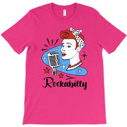 50s Rockabilly T-shirt Designed By Mrt90