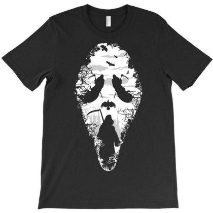 Reaper Scream T-shirt Designed By Samkal