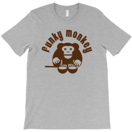 Funky Monkey T-shirt Designed By Anma4547
